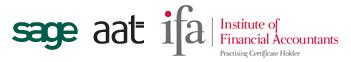 sage, aat, ifa logos